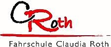 Das Logo der Fahrschule Claudia Roth.